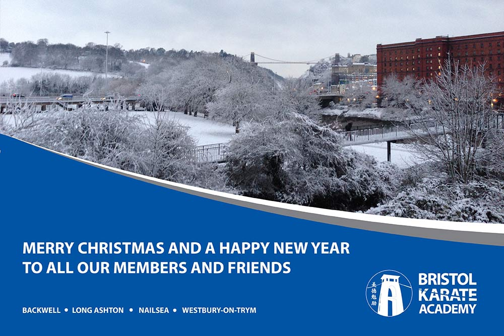 CHRISTMAS & NEW YEAR TRAINING DATES