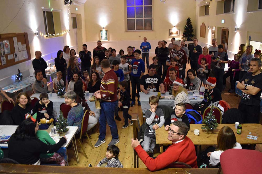 CHRISTMAS PARTY RAISES £371 FOR MIND