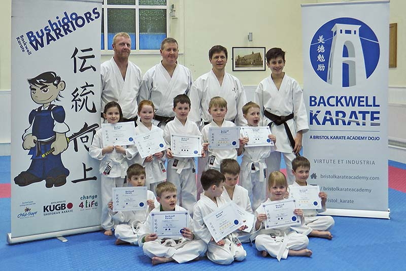 End of term photo for our latest Warriors