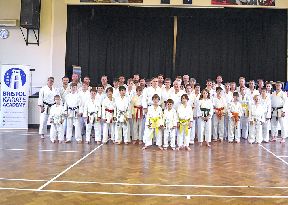 Sensei Andy Sherry after the first of two special classes