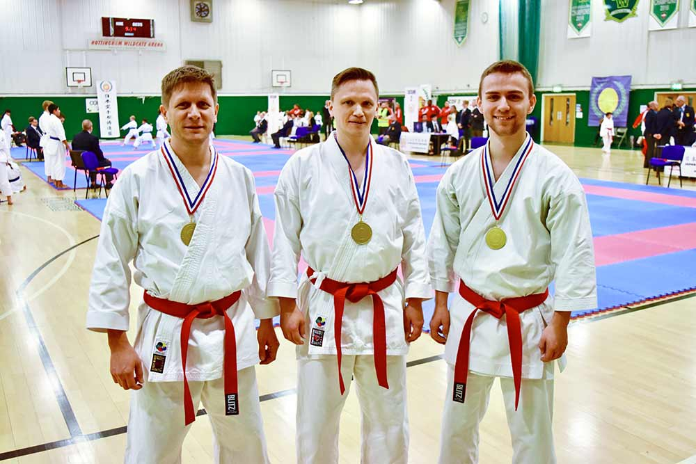 NATIONAL GOLD FOR BRISTOL KARATE ACADEMY