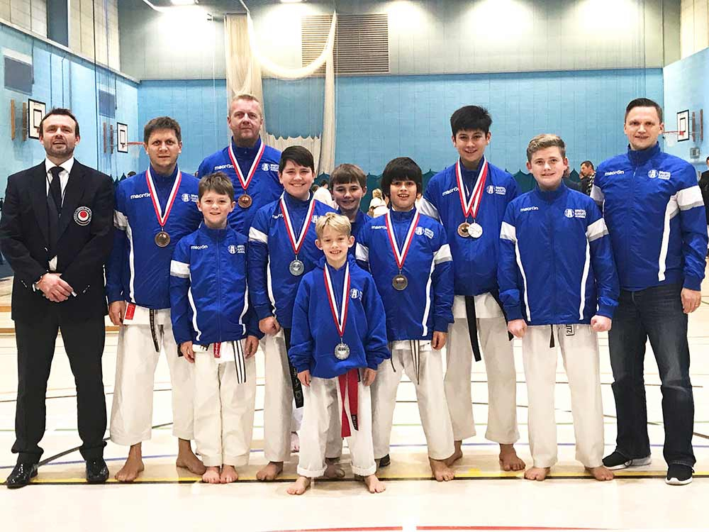 JUNIORS SHOW THE WAY AT SOUTH WEST CHAMPS