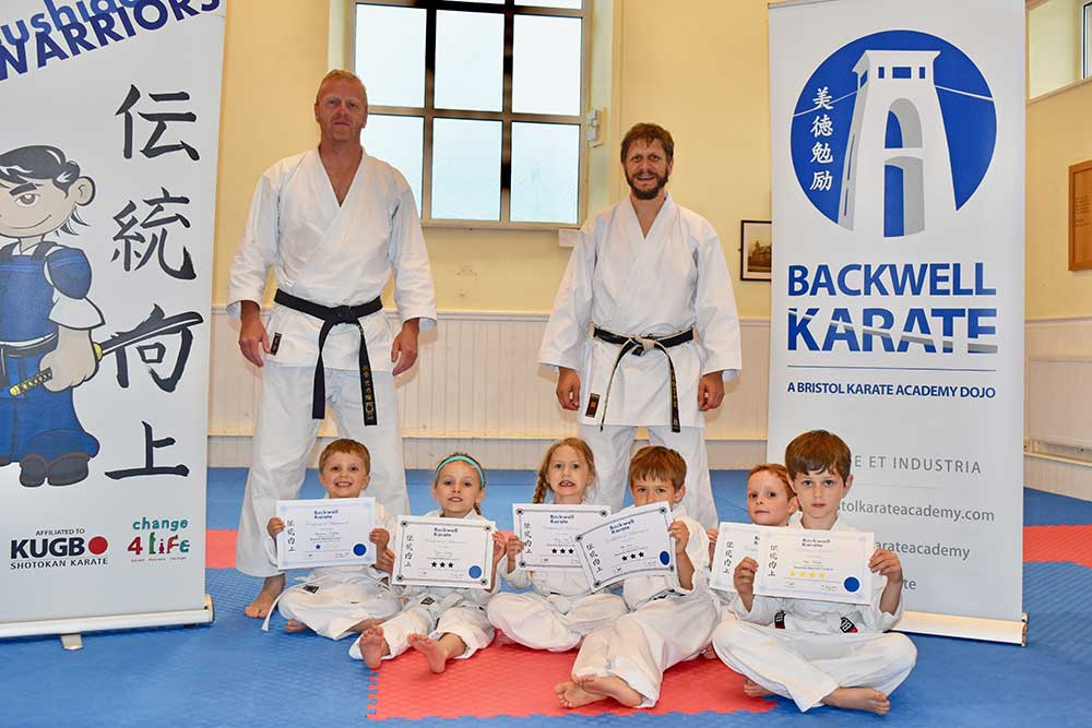 CHILDREN GRADUATE WARRIORS COURSE - BOOK NOW FOR NEXT TERM!