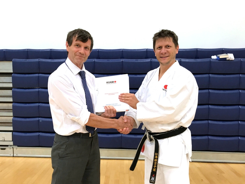 SENSEI DAN SALTER CONFIRMED AS A LEAD INSTRUCTOR