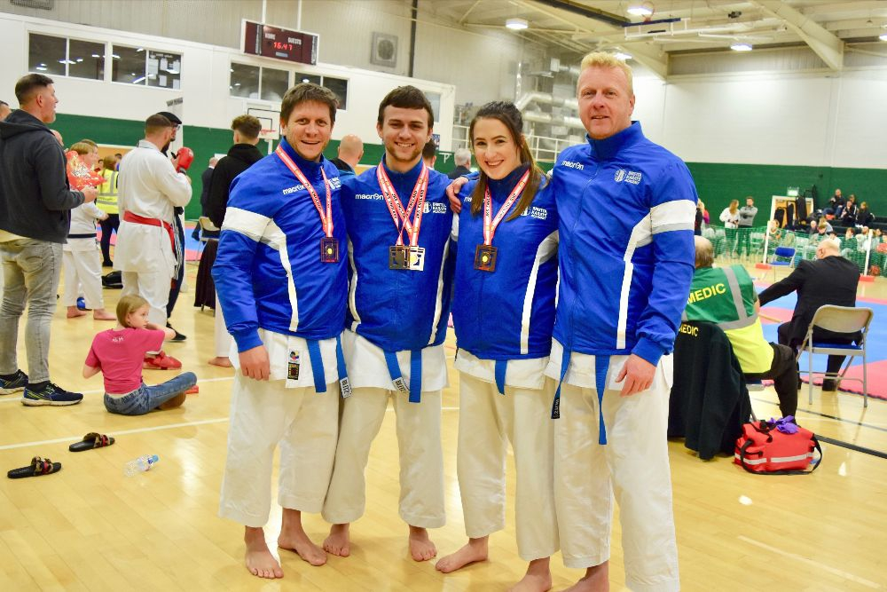 Bristol Karate Academy competitors at the JKS England National Championships