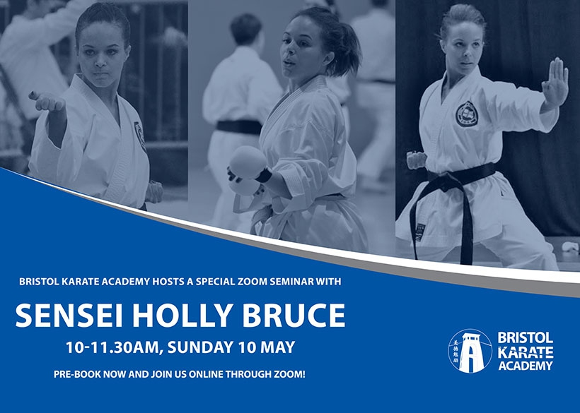 SENSEI HOLLY BRUCE TO TEACH THIS SUNDAY!