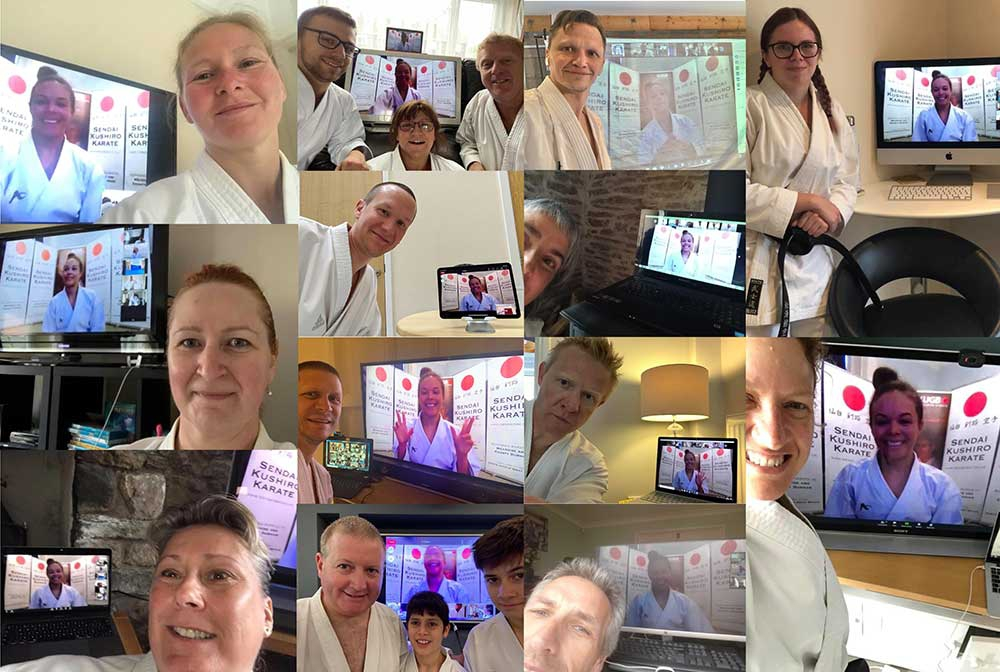 Selfies with Sensei! Holly Sensei poses for pictures at the end of the seminar.