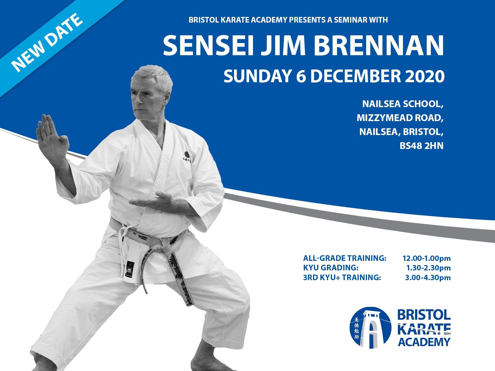 SENSEI JIMMY BRENNAN'S NEXT VISIT